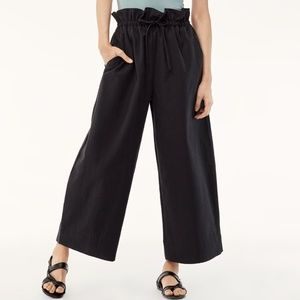 The Group Babaton Kerri black paper-bag pant